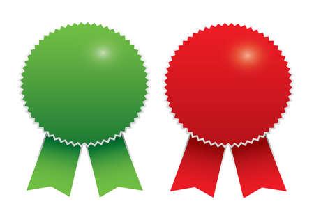 Blank awards. Vector
