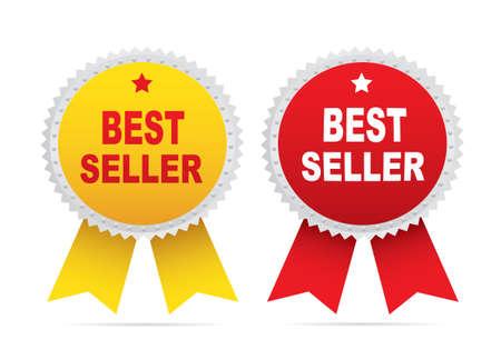 Labels - Bestseller. Illustration