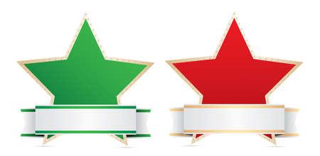 별: star labels.