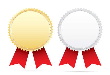 award ribbon: Awards. Illustration