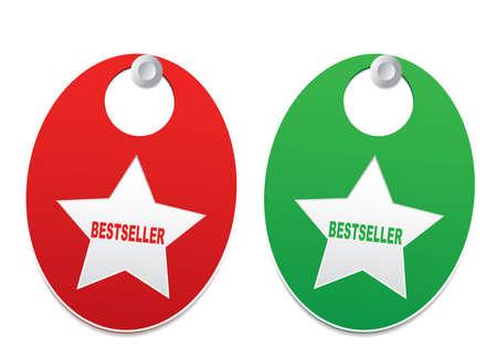 bestseller: Bestseller signs Illustration