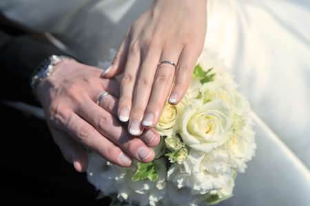 unveiling: Unveiling a scene of wedding ring