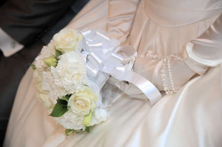 keynote: Gorgeous for a wedding bouquet that was a rose and keynote Stock Photo
