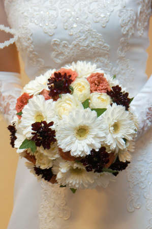 and brilliant: Brilliant wedding bouquet up