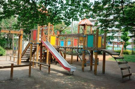 Juegos Para Niños Parque, Juego Instalaciones Del Parque Infantil ...