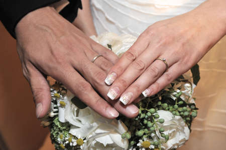 sleek: Within the church, sleek, elegant two of ring