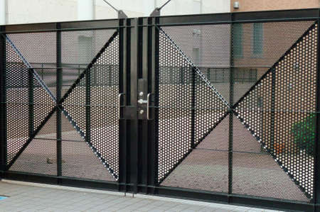 refinement: Gate, Gate of sturdy security has been performed