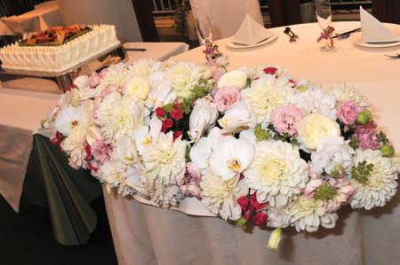 terraced: Bridal Image, Terraced, very nice flower arrangement