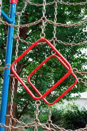 playground equipment: Hanging wheel, Hanging the wheel of playground equipment