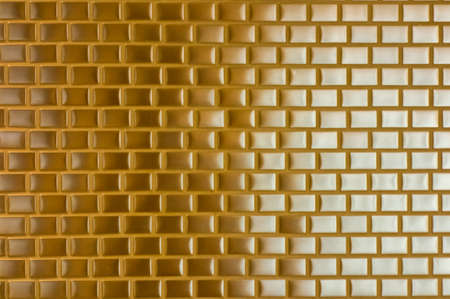 Yellow brick pattern background