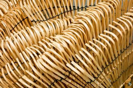 Braided big bamboo broom