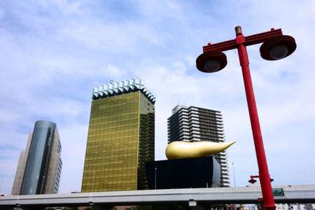 Landmark Plaza in Tokyo Asakusa Редакционное