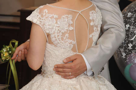 Bridal image, wedding cake sword, brilliant and graceful reception ceremony to realize the eternal happiness of two people