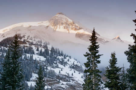 winter in the rockies Stock Photo - 17323502