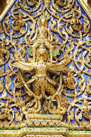 lord vishnu: Lord Vishnu, Garuda  in the Royal Palace.