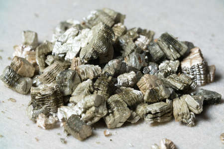 Mineral Vermiculite Samples for Production.