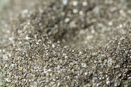 alteration: Mineral Vermiculite Samples for Production Raw Mineral Stock Photo
