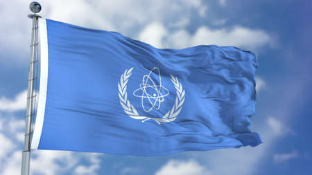 International Atomic Energy Agency (IAEA) flag