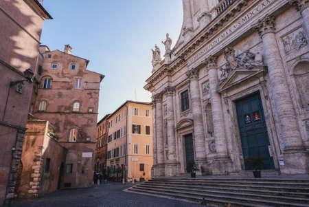 San Giovanni dei Fiorentini Church and Piazza dell Oro 報道画像