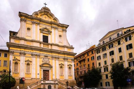 Santa Maria delle Grazie alle Fornaci Church near the Vatican