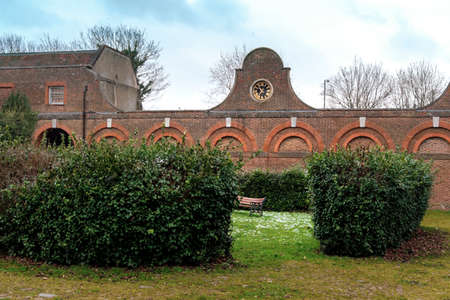 The Stable Block, in Cranford Park, the most complete part of the remaining buildings of Cranford House.