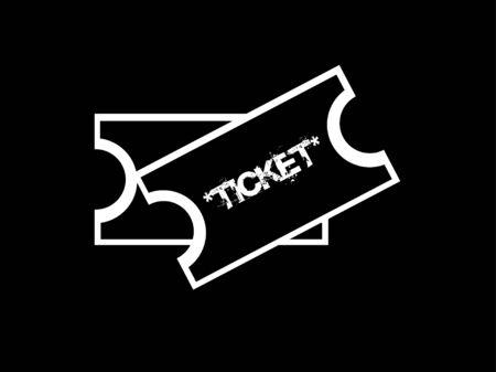 ticket icon: Ticket icon Illustration