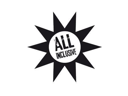 inclusive: all inclusive icon