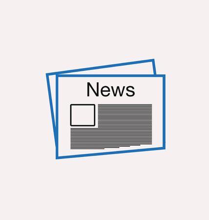newspaper icon: newspaper icon