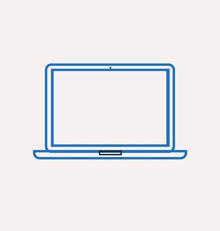 reading app: laptop icon