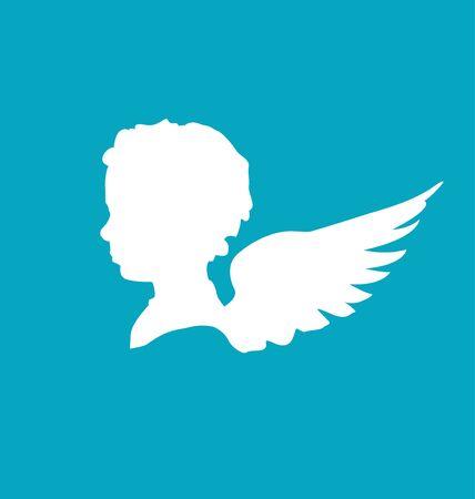 wing figure: cherub