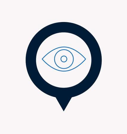 rotulador: marcador de ubicación