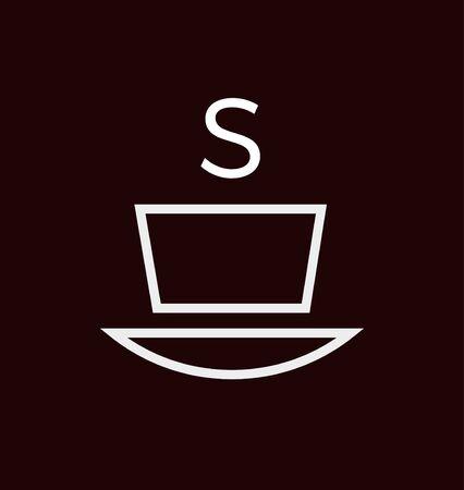 minimalist: minimalist coffee Illustration