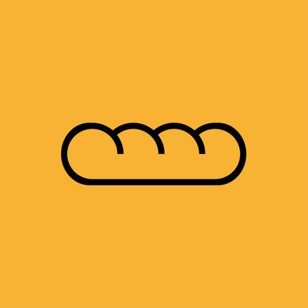 Bread icon Ilustrace
