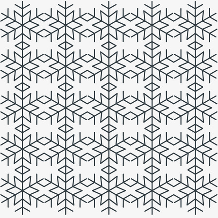 Snow icon pattern