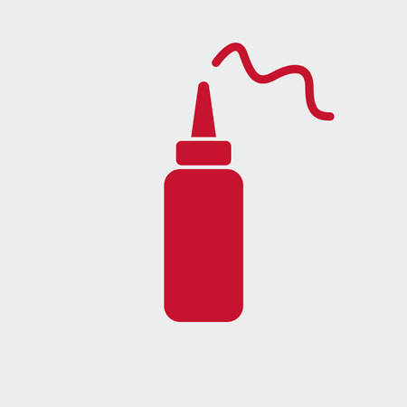 ketchup icon Ilustrace