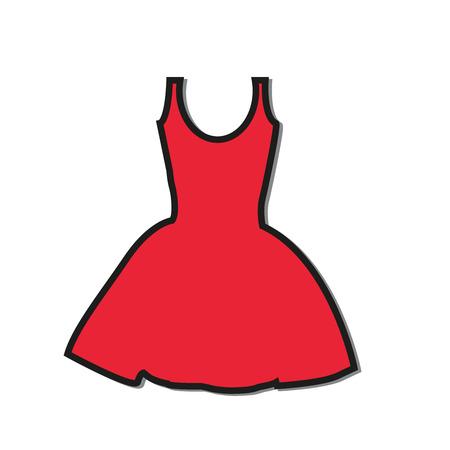 Dress icon Ilustrace