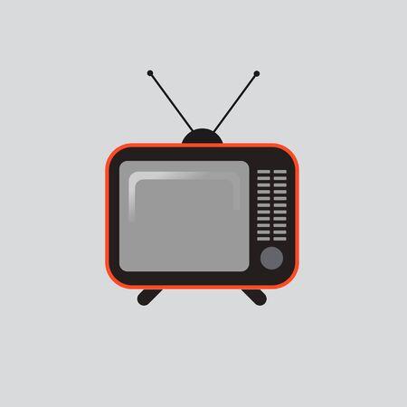 Retro tv vector