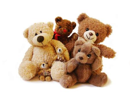 peluche:            familia de osos de peluche