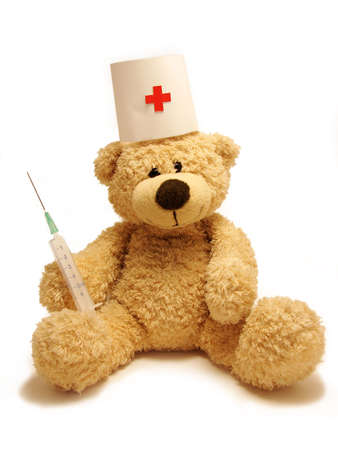 vaccination:           bear-medic                     Stock Photo
