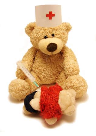 playthings:   medic & patient