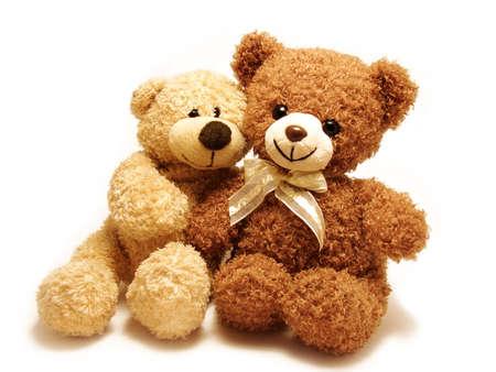 romantic teddy-bears Imagens - 6305333