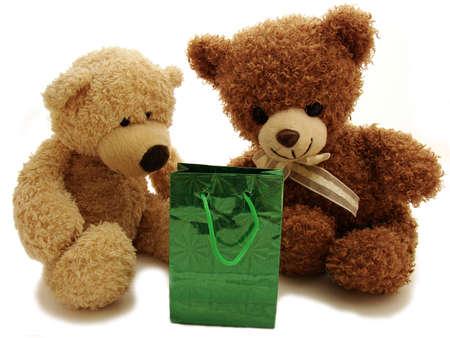 teddy bears & present