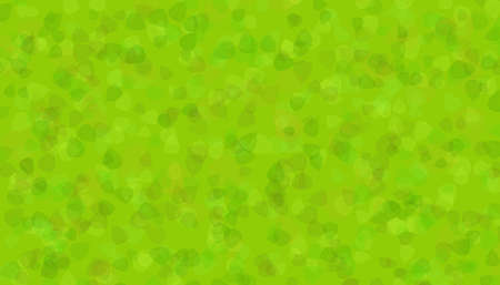 the colorful green leaves as a texture or background