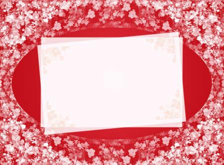 red invitation card photo