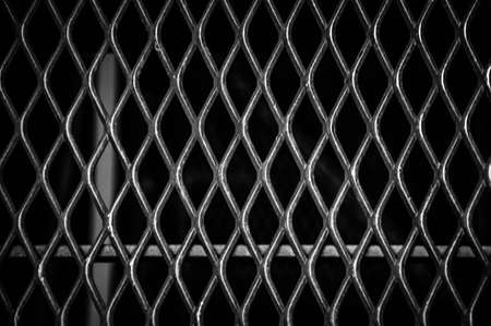 tresspass: Fence close-up, may be used as background