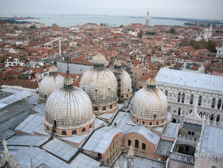 st: St Marks Campanile View, Venice Italy