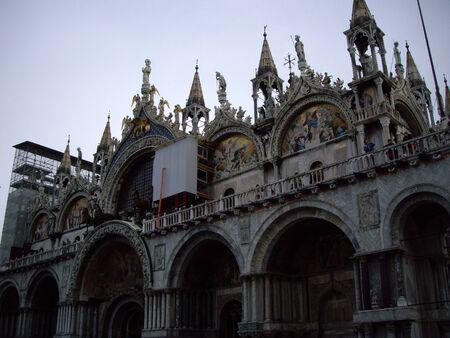 st mark: St. Marks Basilica, Venice Italy