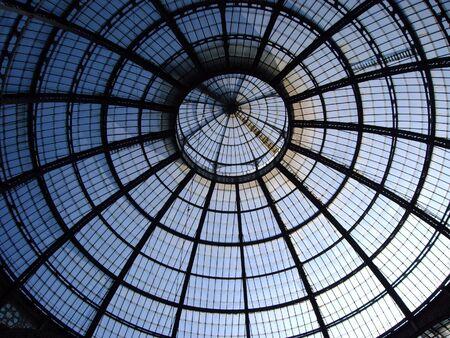 dome: Dome of Galleria Vittorio Emmanuele, Milan Italy