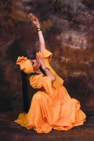 underskirt: Dance in honor to Goddess Oshun