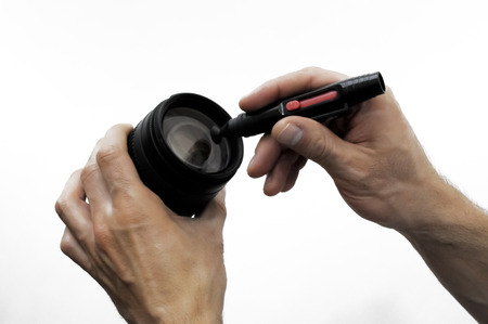 The right way to remove lens smudges